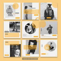 Instagram Feed Ideas Posts, Instagram Feed Layout, Instagram Grid, Instagram Post Template, Instagram Design, Layout Design, Web Design, Sites Layout, Theme Template