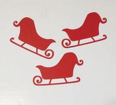 Sleigh cut outs christmas sleigh die cuts paper sleigh image 0 #christmas #christmassleigh #papercutouts #sleighdiecuts #sleigh #christmascutouts #christmasdecor #santadecor #sleighdyecut #papersleigh #paperchristmasdecor