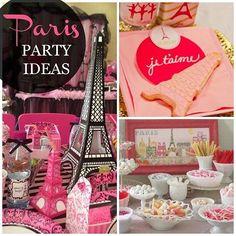 Paris Party Ideas