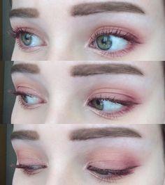 Eye Makeup Tips.Smokey Eye Makeup Tips - For a Catchy and Impressive Look Eye Makeup Glitter, Gold Eyeliner, Makeup Eyeshadow, Face Makeup, Eyeshadows, Pink Eyeshadow, Makeup Goals, Makeup Inspo, Makeup Inspiration