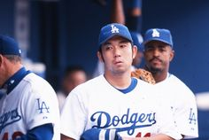 2003 Dodgers pitcher Hideo Nomo