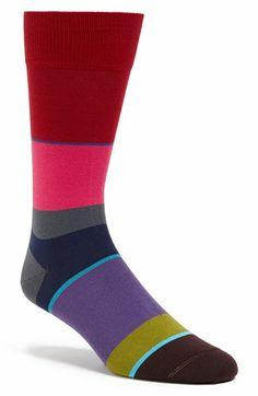 Paul Smith Multi Stripe Socks   Nordstrom
