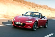 SkyActiv-G - pictures | Mazda MX-5 2015 front | Auto Express