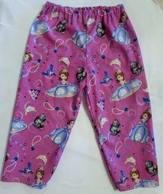 Sophia the First pajama cotton pants by livenlovecreations on Etsy Cotton Pyjamas, Cotton Pants, Pajama Bottoms, Pajama Pants, Fleece Scarf, Harem Pants, I Shop, Trending Outfits, Shopping