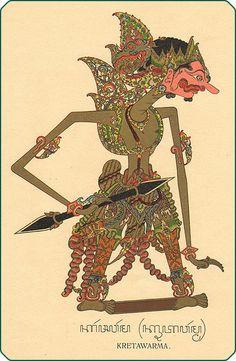 Kretawarma/Kertawarma/Krtavarma - javanese leather puppet