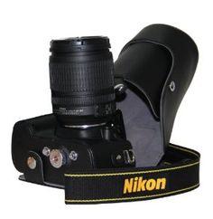 "MegaGear ""Ever Ready"" Black Leather Camera Case for New Nikon D5200 Cameras with 18-55mm VR Lens - http://www.bestdslrdigitalcamera.com/camera-photo-video/digital-cameras/digital-slr-camera-bundles/megagear-ever-ready-black-leather-camera-case-for-new-nikon-d5200-cameras-with-1855mm-vr-lens-com/"