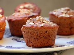 Butternut Squash and Honey Muffins #recipe