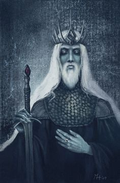 The Witch-king of Angmar, also known as the Lord of the Nazgûl and the Black Captain