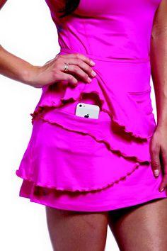 Flirt skirt at ellabelle.com #golf #tennis #cuteclothes