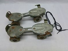 Old Roller Skates.  Managed to tear the soles of many pairs of tennis shoes!