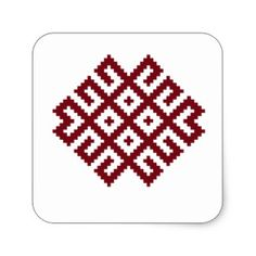 Ancient Nordic Latvian Symbol by Ilze Lucero Cotton Tote Bags, Reusable Tote Bags, Nordic Symbols, Poplin Fabric, Embroidery Patterns, Stencils, Projects To Try, Traditional, Kitsch