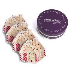temp-tations® by Tara: temp-tations® Set of 4 Gingerbread Plates in Gift Box
