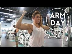 Arm Day || Biceps & Triceps - YouTube