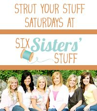 Six Sisters' Stuff: Strut Your Stuff Saturday Link Party (and $100 Shabby Apple Gift Card Giveaway)