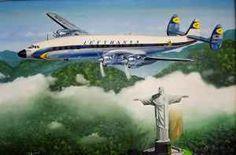 Super-Constellation Lufthansa Kunstart: Skulptur Technik: Stil: Realismu