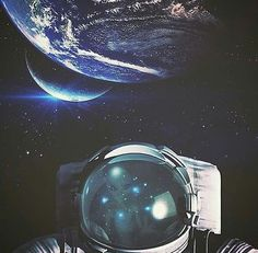 Just Space Stuff Cosmos, Astronaut Wallpaper, Space Illustration, Astronauts In Space, Major Tom, Man On The Moon, Galaxy Space, Lost In Space, Selfie