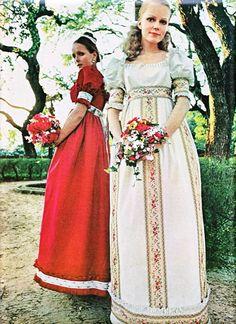 Weddings seventies style