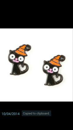 Claire's halloween earrings