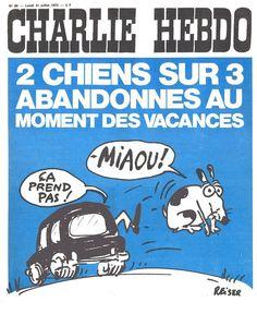 CHARLIE HEBDO 1972. Caricatures, Tragic Comedy, Paris Nice, Learn Art, Freedom Of Speech, Illustration, Snoopy, Lol, Souvenir