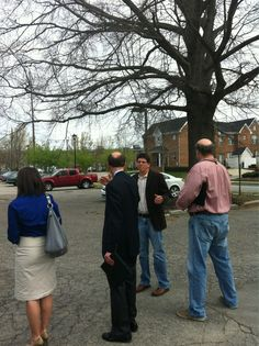 Twitter / Recent images by @RALPublicArt  With artist Chris Fennell touring Halifax site for public art potential!