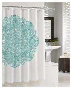cortina de baño en tela originales