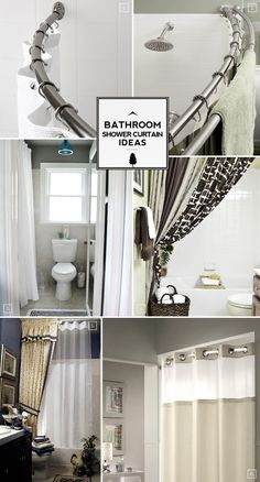 Bathroom Shower Curtain Ideas: From Space Saving To Decorative Extras