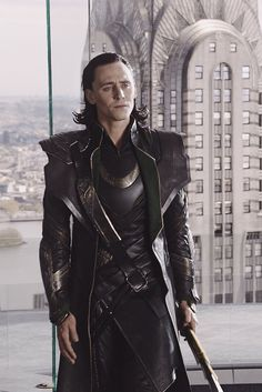 "Tom Hiddleston ""Loki"" Nice still from ""The Avengers"" From http://icyxmischief.tumblr.com/post/112646688104"