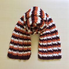 Chunky Knit Scarf, Virginia Tech Scarf, Fall Knit Scarf, Hokies Maroon and Orange Scarf, VA Tech Scarf, VT Hokies Game Day, Ready to Ship Autumn Winter Fashion, Fall Winter, Fall Knitting, Chunky Knit Scarves, Orange Scarf, Virginia Tech, Style Inspiration, Mall, Clothes