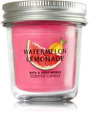 Watermelon Lemonade Mini Candle - Home Fragrance 1037181 - Bath & Body Works