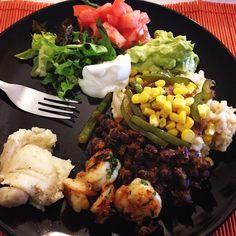 """ #Dinner #healthy #homemade #healthy2014 #healthyeating #homemadechipotle #love #eatclean #eathealthy #chipotle #yummy #yummyinmytummy #h#gohealthy…"""