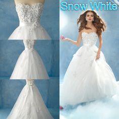 Disney wedding dresses- Snow White 2