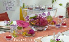 La gamme Clearly Creative inspiration décoration   https://charlotte57.partylite.fr/Shop 06 61 02 29 96