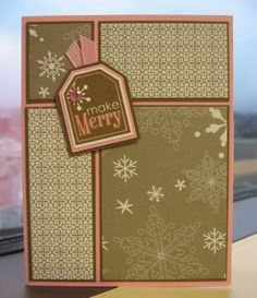 WSC105 - Make Merry (SUO) by ReginaBD - Cards and Paper Crafts at Splitcoaststampers