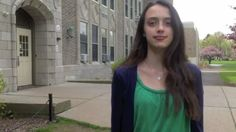 """Alexandra Jackman in her video """"A Teen's Guide To Autism"""""""