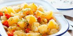 Patates pilaki nasıl yapılır tadına doyum olmaz! - Enpratikbilgiler.com - Enpratikbilgiler.com Fruit Salad, Potato Salad, Ethnic Recipes, Food, Fruit Salads, Essen, Meals, Yemek, Eten