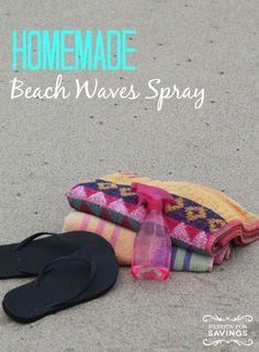 How to Make Homemade Beach Waves Spray! How to Make Homemade Beach Waves Spray! Daily Beauty Tips, Beauty Tips For Face, Beauty 101, Beauty Tricks, Beauty Secrets, Summer Hairstyles, Diy Hairstyles, Beach Wave Spray, Beach Hacks