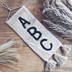 Abc Wall, Lorena Canals, Wall Decor, Room Decor, Back To School, Kids Room, Things To Come, Teaching, Interior