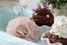 Oh Wish I Could Find These Ceramic Ruffle Bakeware For Cupcakes