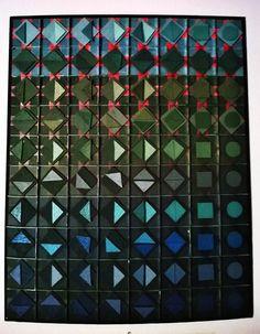 geometric shapes 3d by cork