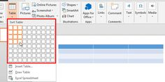 Learn how to insert a table in #PowerPoint 2013 for Windows.