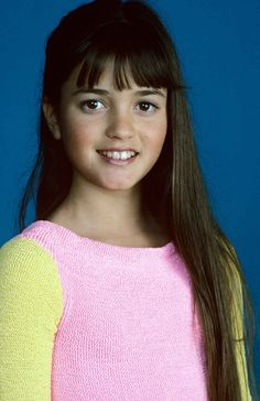 Danica McKellar from The Wonder Years   26 Of Your Childhood Crushes Then And Now