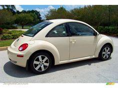 2006 vw bug | 2006 Volkswagen New Beetle TDI Coupe in Harvest Moon Beige photo #7 ...