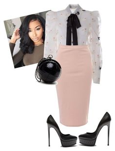 """""""Sunday Morning"""" by cogic-fashion ❤ liked on Polyvore featuring Marc Jacobs, Glamorous and Casadei"""