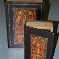 Decoratiuni vintage - set cutii carti Retro, Retro Illustration