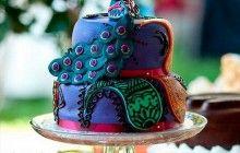 peacock wedding cakes 2014