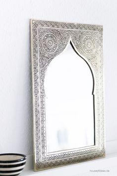 XL Marokkanischer Spiegel - HOUSE of IDEAS Orientalische Dekorationsartikel und Bunzlauer Keramik