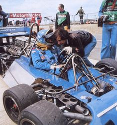 """Tyrell P-34 """"Six-Wheeler."""" Here with Ronnie Peterson in 1977."""