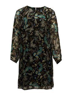 Violeta by Mango Flowy print dress