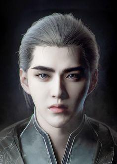 Kris Wu, Lorde, Anime Girl Brown Hair, Chinese Background, Alice Mare, Asian Photography, Fantasy Art Men, Final Fantasy, Exo Fan Art