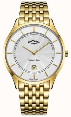 Authorised UK retailer for more than 150 brands of watches and jewellery. Your trusted watch specialist. Rotary Watches, Gold Plated Bracelets, Gold Watch, Slim, Men, Accessories, Jewelry, Jewlery, Jewerly